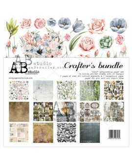 """Crafter's Bundle"" AB STUDIO 30x30 7 uds"