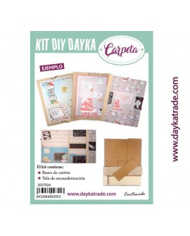 KIT DIY DAYKA CARPETA GRANDE
