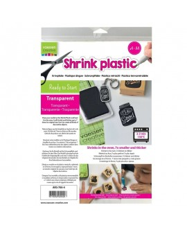 Shrink Plastic TRANSPARENTE
