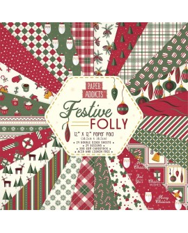 Paper Addicts FESTIVE FOLLY 30x30 cm
