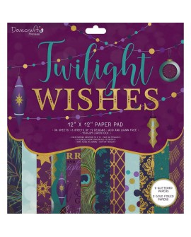 Twilight Wishes 30x30 cm Premium DOVECRAFT