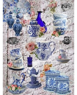 Papel de Arroz PORCELANA CHINA
