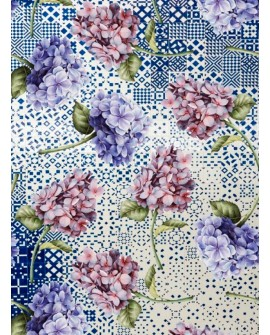 Papel de Arroz COLLAGE FLORES 12