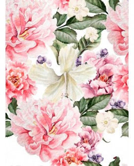 Papel de Arroz COLLAGE FLORES 17