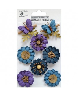 Handmade Flowers - ARCADIA PURPLE PASSION