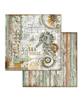 Papel Scrap SEA WORLD SBB664 STAMPERIA