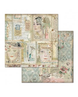 Papel Scrap IMAGINE SBB668 STAMPERIA