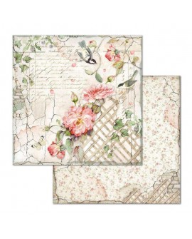 Papel Scrap HOUSE OF ROSES SBB673 STAMPERIA