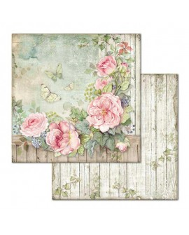 Papel Scrap HOUSE OF ROSES SBB675 STAMPERIA
