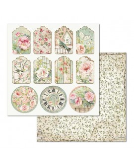 Papel Scrap HOUSE OF ROSES SBB677 STAMPERIA
