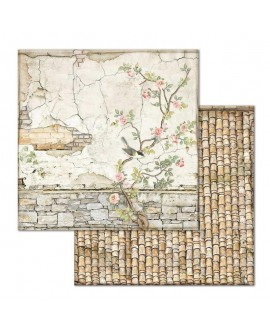 Papel Scrap HOUSE OF ROSES SBB678 STAMPERIA