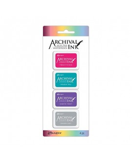 Set 4 Tintas ARCHIVAL INK ARC57703