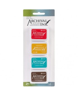 Set 4 Tintas WENDY ARCHIVAL INK ARC57796
