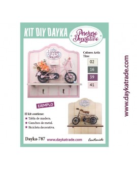 KIT DIY DAYKA PERCHERO BICI