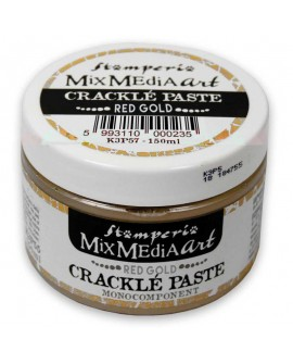 Crackle Paste monocomponente ORO ROJO 150 ml
