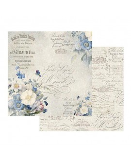 Papel Scrap STAMPERIA Old England bouquet