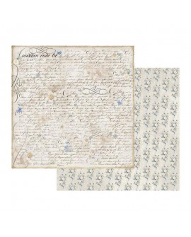 Papel Scrap STAMPERIA Old England writing