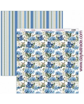 "SCP-389 Papel scrap colección ""Nature in blue"""
