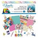 "Shimelle paper pad Box of Crayons 12x12"" x33"