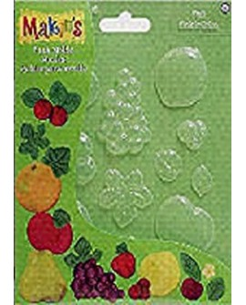Molde flexible Makin's modelo FRUTAS
