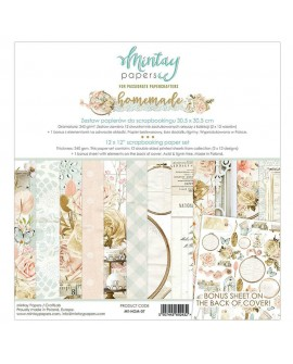 Set Scrapbooking HOMEMADE Mintay by Karola 30x30 cm