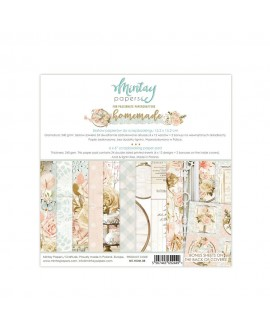 Set Scrapbooking HOMEMADE Mintay by Karola 15x15 cm