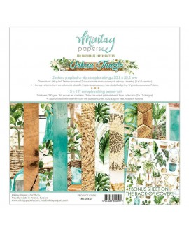 Set Scrapbooking URBAN JUNGLE Mintay by Karola 30x30 cm