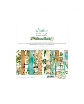 Set Scrapbooking URBAN JUNGLE Mintay by Karola 15x15 cm