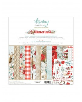 Set Scrapbooking WINTERLAND Mintay by Karola 30x30 cm