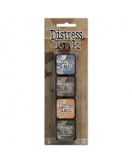 Set 4 Tintas DISTRESS ARCHIVAL INK TIM HOLTZ 40392