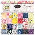 American crafts pebbles paper pad 30,5x30,5cm x48 every day