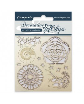 Decorative chips STAMPERIA Arctic