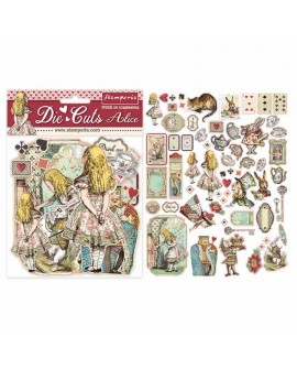 Die Cuts STAMPERIA Alice