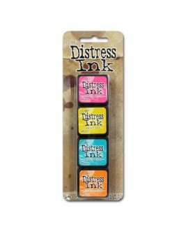 Set 4 Tintas DISTRESS ARCHIVAL INK TIM HOLTZ 40316