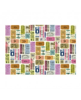 Papel ROSSI Tickets 50x70 cm