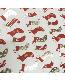 Papel ROSSI Christmas Stockings 50x70 cm