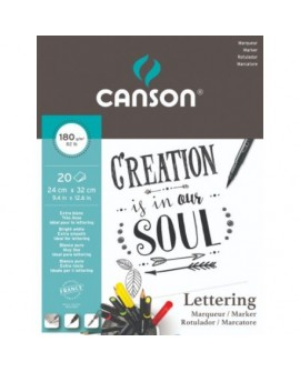 Cuaderno Marker Lettering CANSON