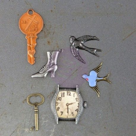 Metal trinkets remembrance