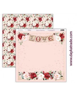 "SCP-412 Papel scrap amor y amistad – colección ""Love makes us fly"""