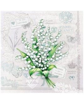 SERVILLETAS Lily Of The Valley