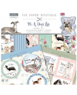 It's a dogs life paper kit