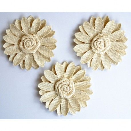 Creative elements canvas deco sun flowers x3