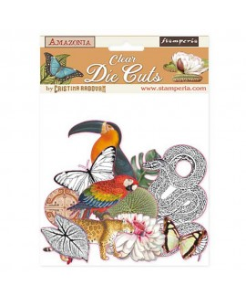 Clear Die Cuts STAMPERIA Amazonia