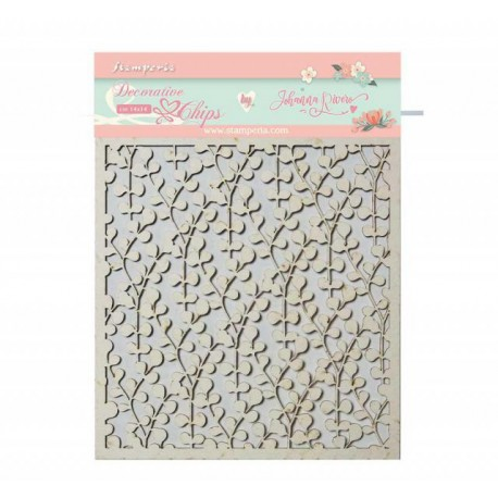 Decorative chips STAMPERIA Circle of Love texture