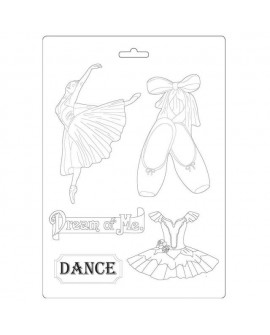 Soft Mould A4 Passion ballerina Stamperia