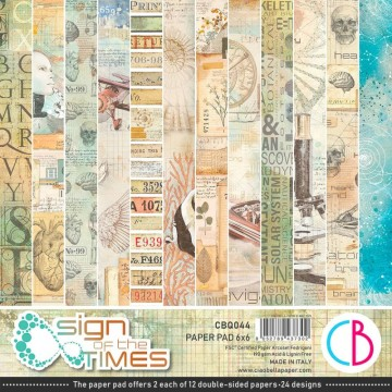 Colección Scrapbooking Sign of the Times CIAO BELLA 15x15 cm