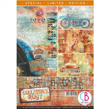 Colección Scrapbooking Collateral Rust Limited A4 CIAO BELLA