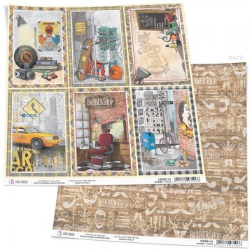 Papel Scrapbooking Hipster Cards CIAO BELLA 30x30 cm