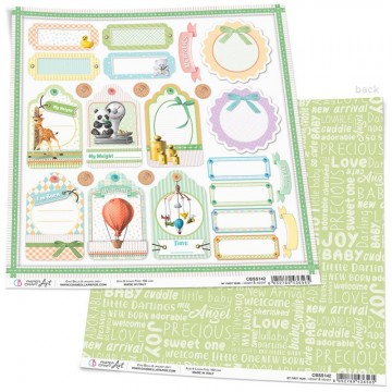 Papel Scrapbooking Height & Weight CIAO BELLA 30x30 cm