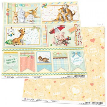 Papel Scrapbooking My First Year Cards & Tags CIAO BELLA 30x30 cm